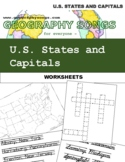 U.S. States and Capitals Bundle, incl. 9 learning songs +