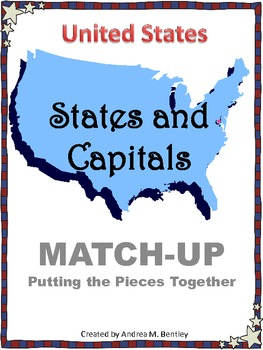 States and Capitals Match-Up