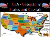 US States and Capitals (Part 2)