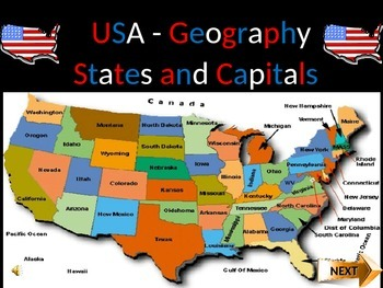 US States and Capitals (Part1)