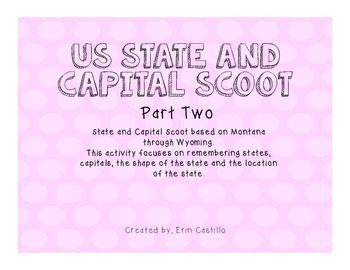 US States and Capitals Scoot Last 25!