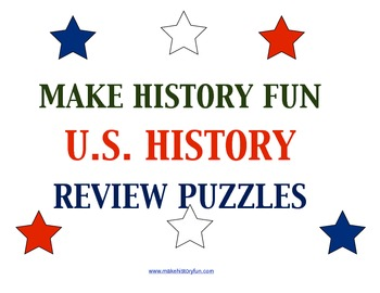 Hands on History-U.S. States and Nicknames 40 Piece Puzzle