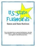 U.S. States and State Outline Flashcards