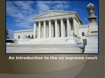 US Supreme Court: An Introduction