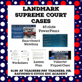 Landmark Supreme Court Cases - Civics State Exam