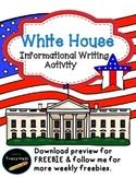 U.S. Symbol White House Informational Writing-Freebie incl