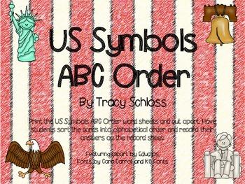 US Symbols ABC order, American Symbols
