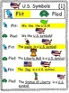 US Symbols- An easy to read Partner Play