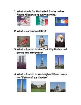 US Symbols Assessment