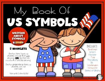 US Symbols Booklet (Eagle, Flag & More} Kindergarten & 1st Grade Social Studies