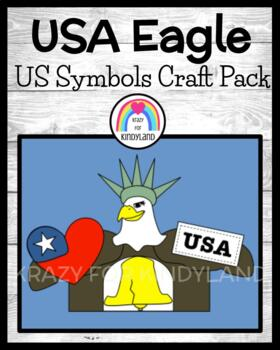 US Symbols Craft: USA Eagle