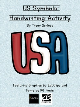 US Symbols Handwriting
