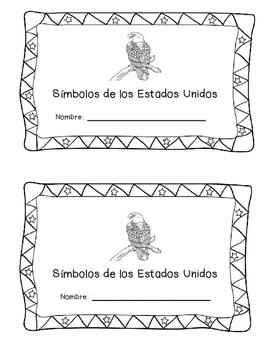 US Symbols: Librito para leer y coloear (Spanish)