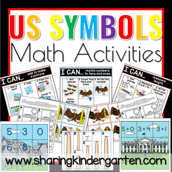 US Symbols Math Activities