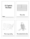 US Symbols Mini Book