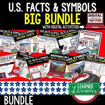 CIVCS US Symbols, Monuments, Songs, Oaths, Facts, Buildings BUNDLE
