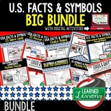 US Symbols & Facts BUNDLE, Monuments, Songs, Oaths, Facts,