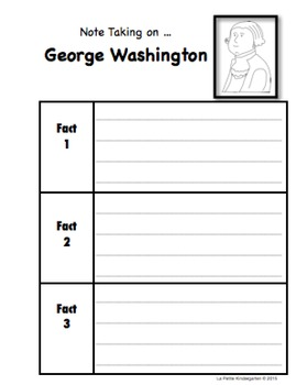 US Symbols Note Taking Pages and Reader BUNDLE
