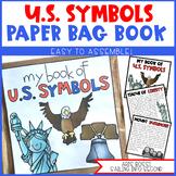 U.S. Symbols Paper Bag Book