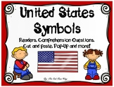 US Symbols Readers, Comprehension Activities, Pop-Up Card