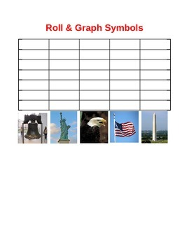 US Symbols Roll & Graph