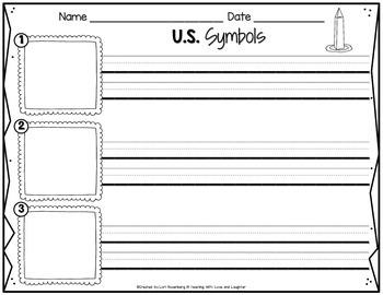 U.S. Symbols Scrambled Sentences