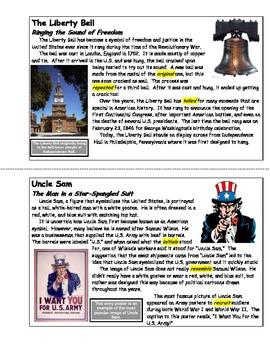"US Symbols - ""Symbols of America"" (Unit Booklet)"