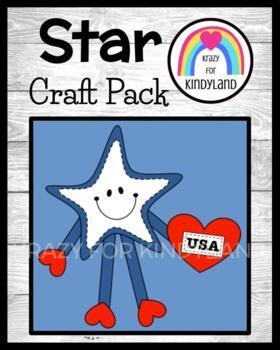I Love the USA Star Craft (US Symbols, Veteran's Day Craft)