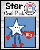 I Love the USA Craft (US Symbols, Veteran's Day, Presidents, Election, Vote)