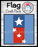 Flag Craft (US Symbols, Veteran's Day, Presidents, Election, Vote)