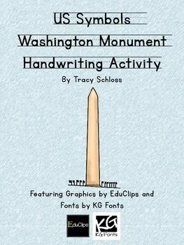 US Symbols, Washington Monument Handwriting