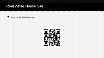 U.S. Symbols White House QR Code Research