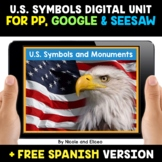 US Symbols and Monuments Activities for Google and Seesaw