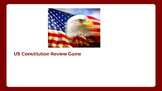 US United States Constitution review game PowerPoint