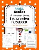 US West Region Interactive Notebook