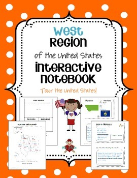 US West Region Interactive Notebook