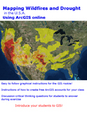 US California Wildfires ArcGIS online