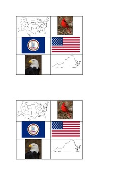 US and Virginia Visual Comparison Chart