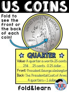 US coins fold&learn