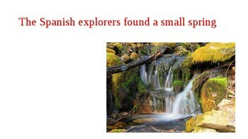 US places with Spanish names power point presentation