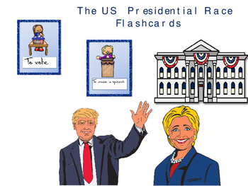 US presidential election 2016 flashcards WITH SOUND!