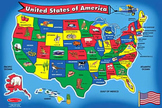 U.S. states and capitals:  interactive SMART board