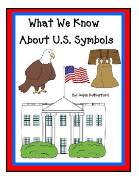 US symbols cloze style packet for K-2nd