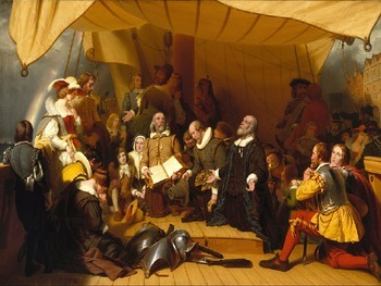 US threepenny bit from the time of the Pilgrim Fathers found