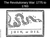 US005 The Revolutionary War 1775 to 1783