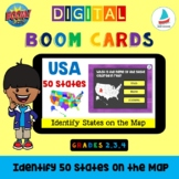 USA 50 States - Identify by Location on the Map | Map Skil