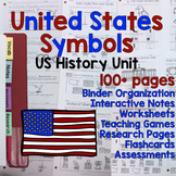 USA / American Symbols Unit - Differentiated Resources