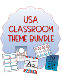 USA American Themed Classroom Bundle