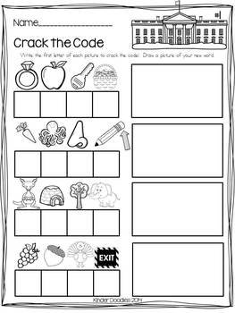 USA! American themed literacy activities aligned with CCSS
