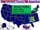USA Animated Interactive Map (All 50 States, Statehood, Nickname and Flag)